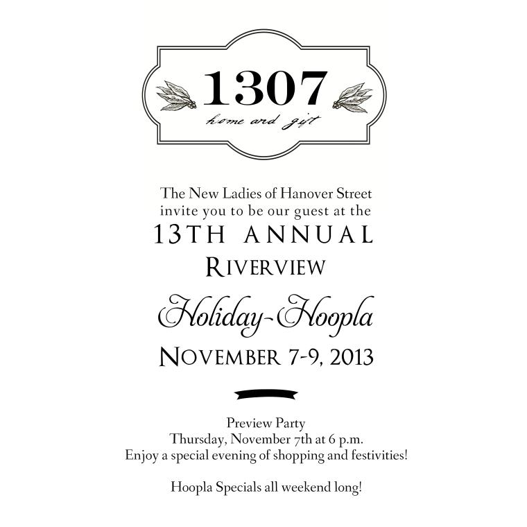 1307 Holiday Hoopla